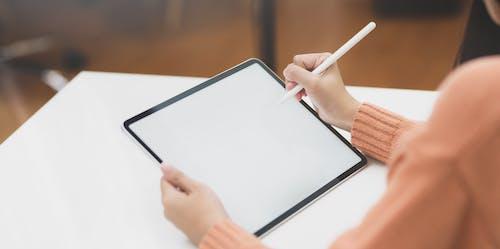 Ảnh lưu trữ miễn phí về áo dài tay, bài tập về nhà, bút stylus, Công nghệ