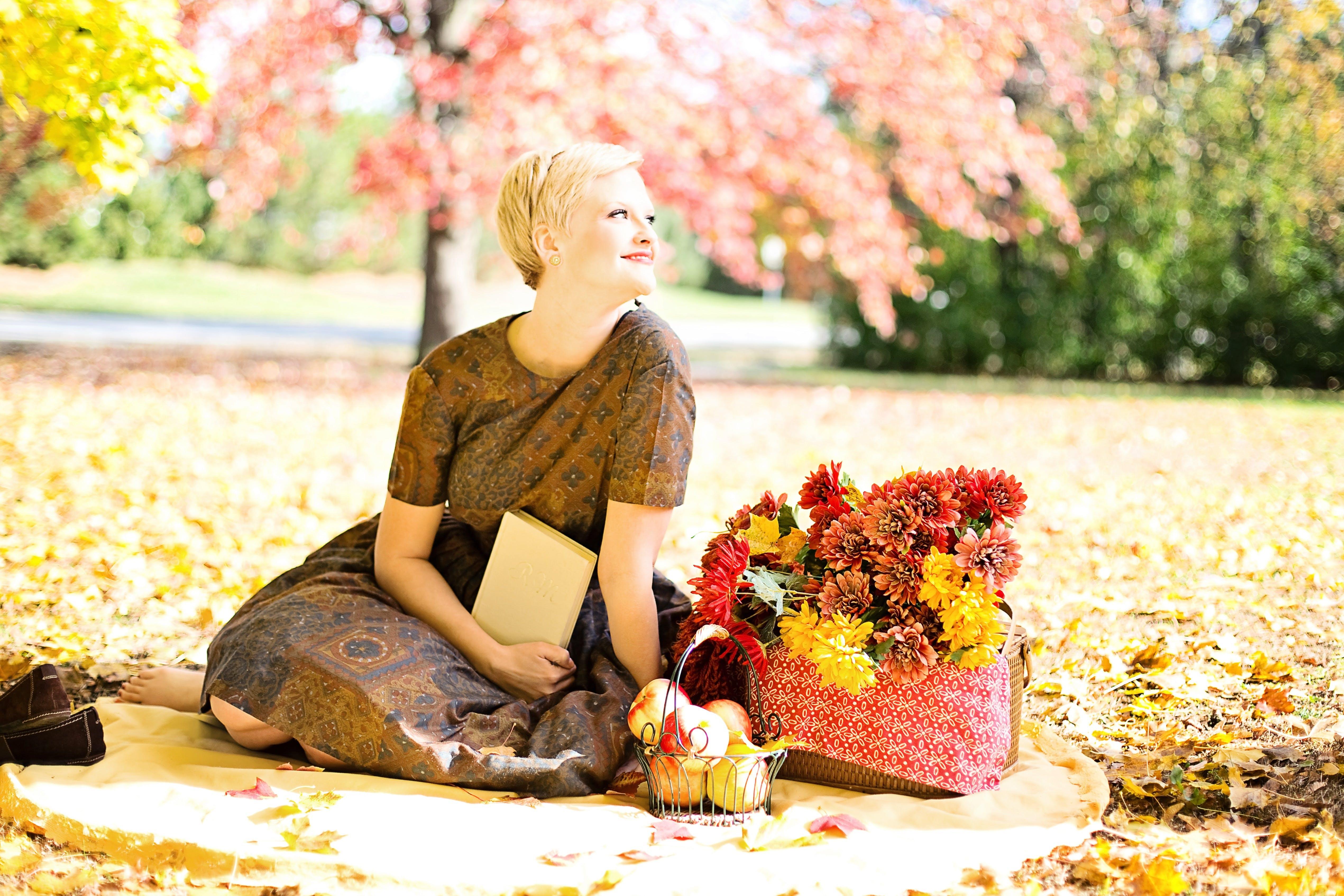 Free stock photo of woman, picnic, girl, vintage