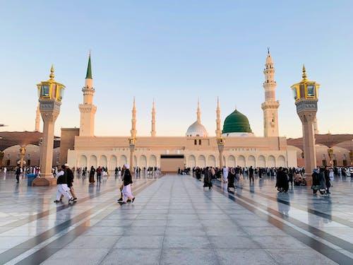 Immagine gratuita di grande moschea, jama masjid, madinah