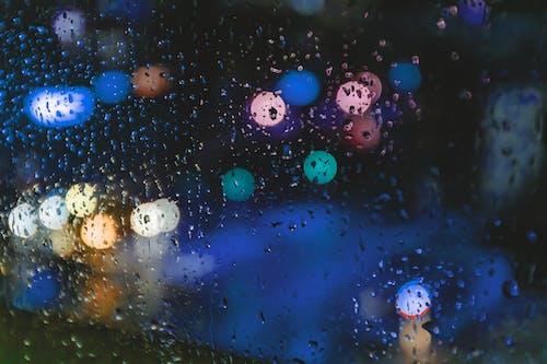 คลังภาพถ่ายฟรี ของ ชีวิตในเมือง, ฝน, พื้นหลัง, พื้นหลังเบลอ