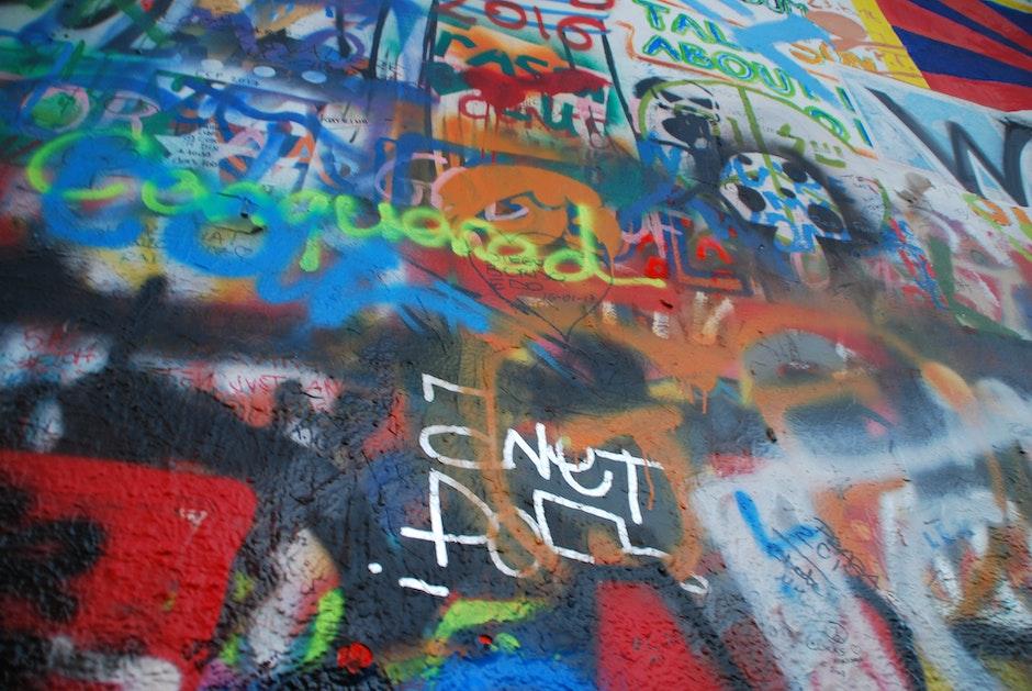 czech republic, europe, graffitti
