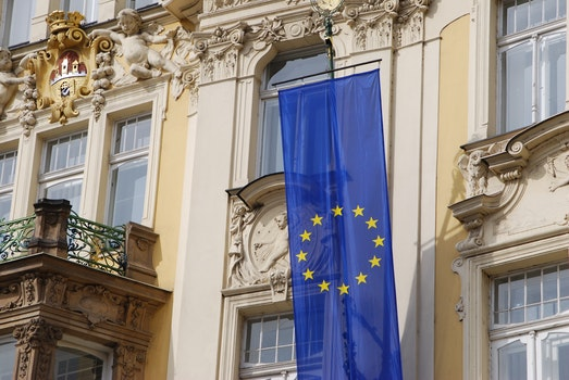 Free stock photo of flag, EU, European Union, czech republic