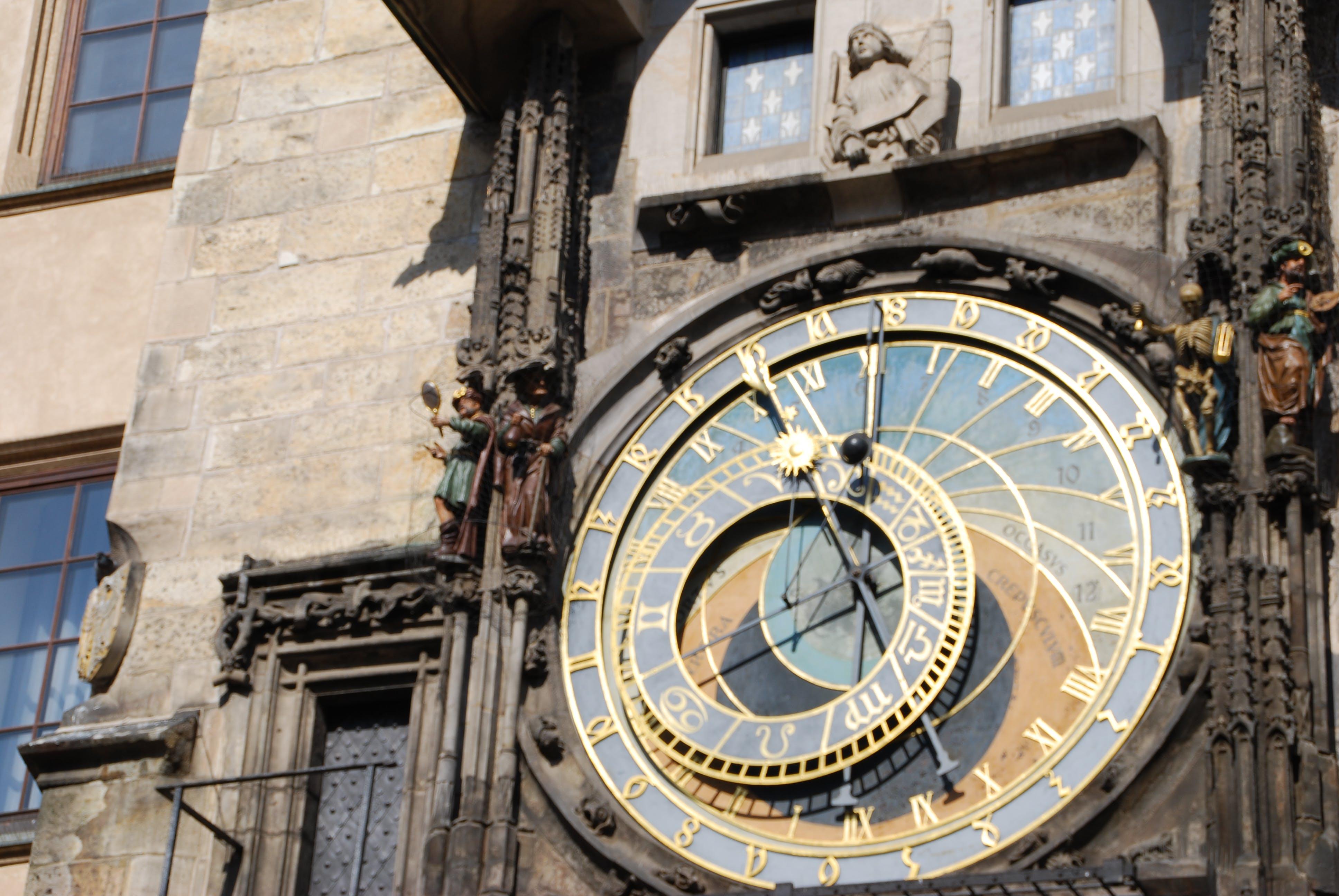 Free stock photo of clock, czech, czech republic, europe