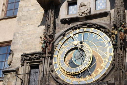 Free stock photo of monument, clock, czech republic, prague
