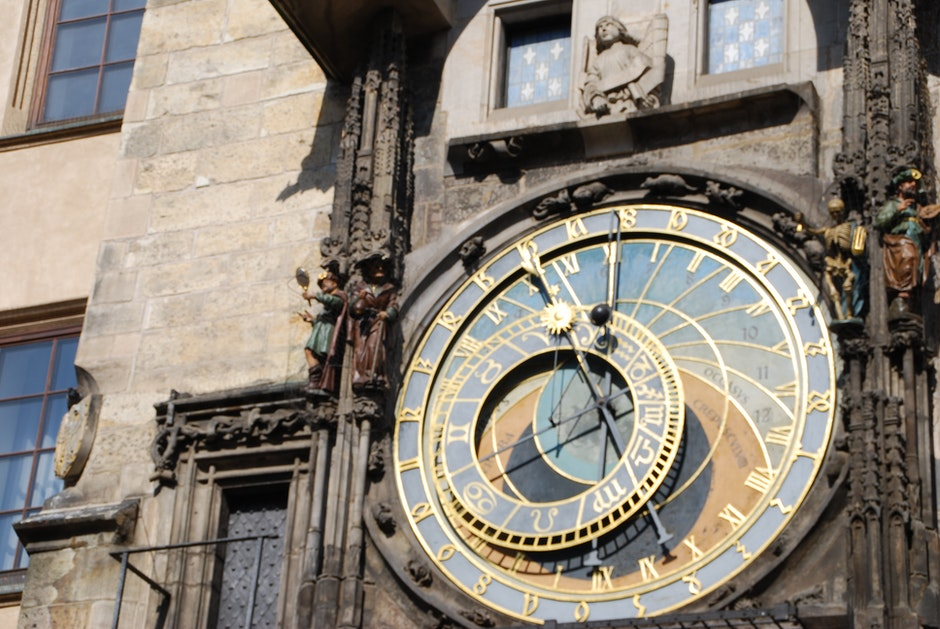 clock, czech, czech republic