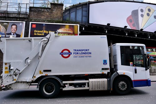 Free stock photo of dump truck, london, rubbish