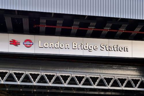 Free stock photo of london bridge, tube station