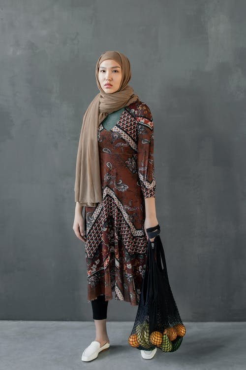 Photo Of Woman Wearing Brown HIjab