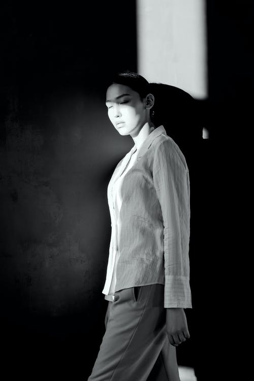 Photo Of Woman Wearing Dress Shirt