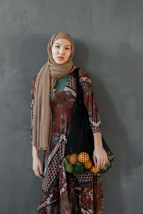 Photo Of Woman Wearing Brown Hijab