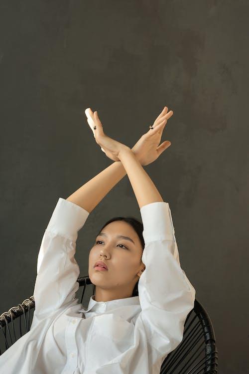Ilmainen kuvapankkikuva tunnisteilla aasialainen nainen, asento, canvacustombrief