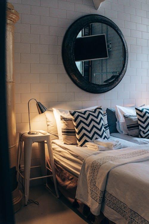 Weiße Und Schwarze Bettwäsche