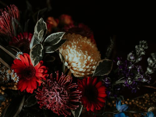 Close-Up Photo Of Flower Bouquet