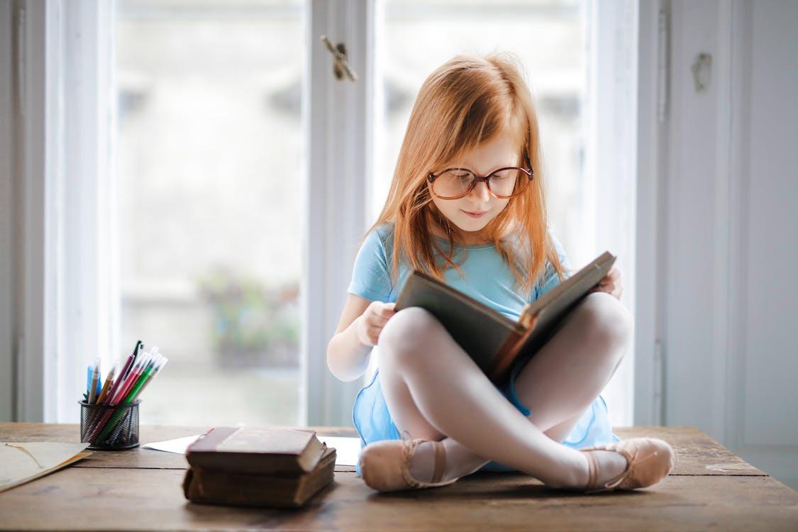 adorabile, apprendimento, bambino