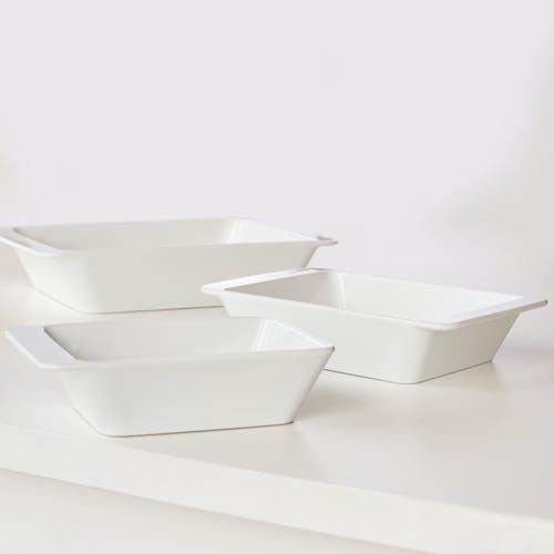 Бесплатное стоковое фото с canvacustombrief, керамический, кухонная посуда, лотки