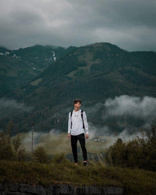 Foto stok gratis alam, angin ribut, Austria, awan