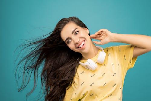 Photo Of Woman Wearing Yellow Shirt