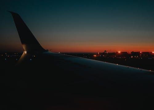 Základová fotografie zdarma na téma křídlo, letadla, letadlo, letadlo okno