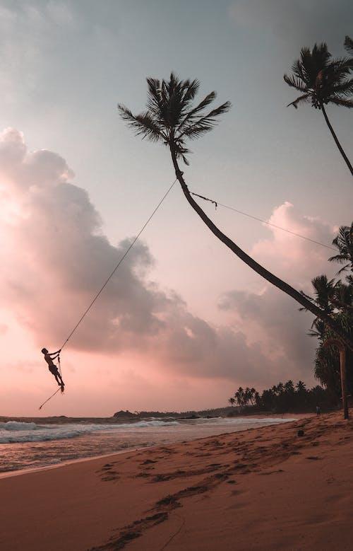 Бесплатное стоковое фото с безмятежный, берег моря, берег океана, волны
