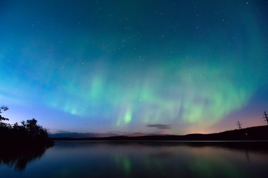 astronomy, atmosphere, aurora borealis