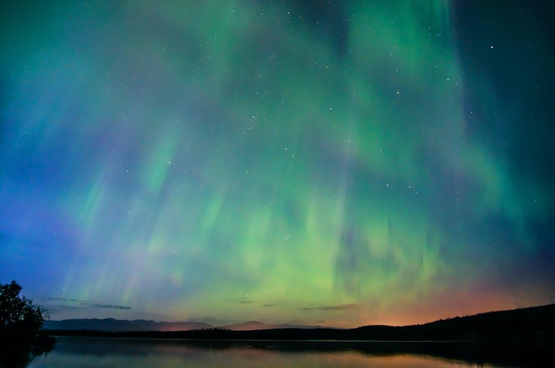 artis, aurora borealis, bintang