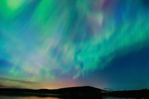 Foto profissional grátis de Aurora boreal, boreal, céu, céu noturno
