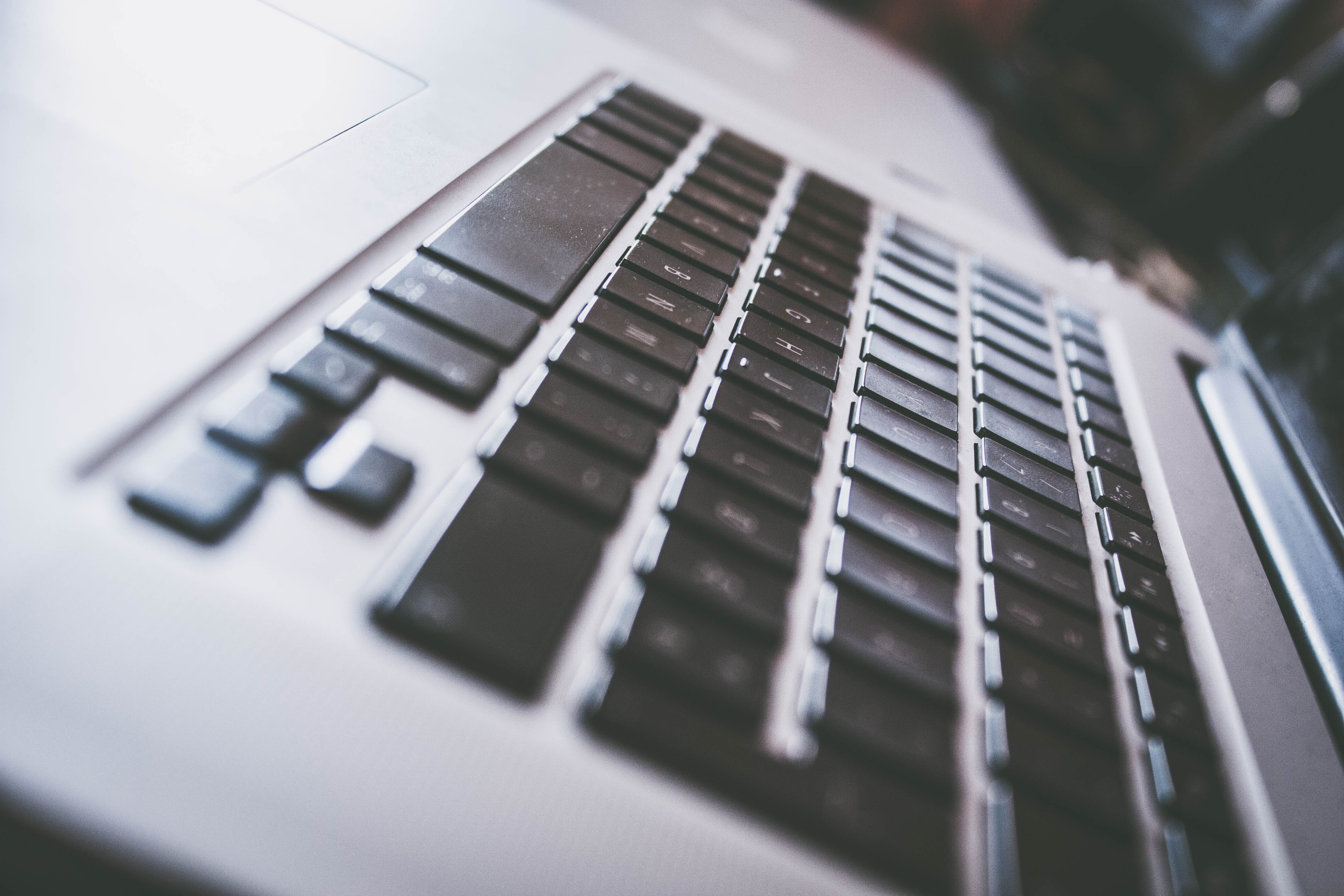 Free stock photo of apple, apple keyboard, close up, computer