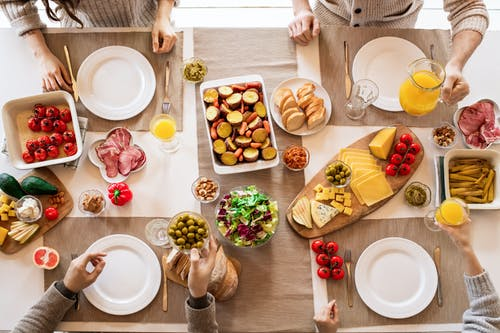 桌上的食物
