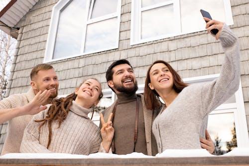 Photo Of People Doing Selfie