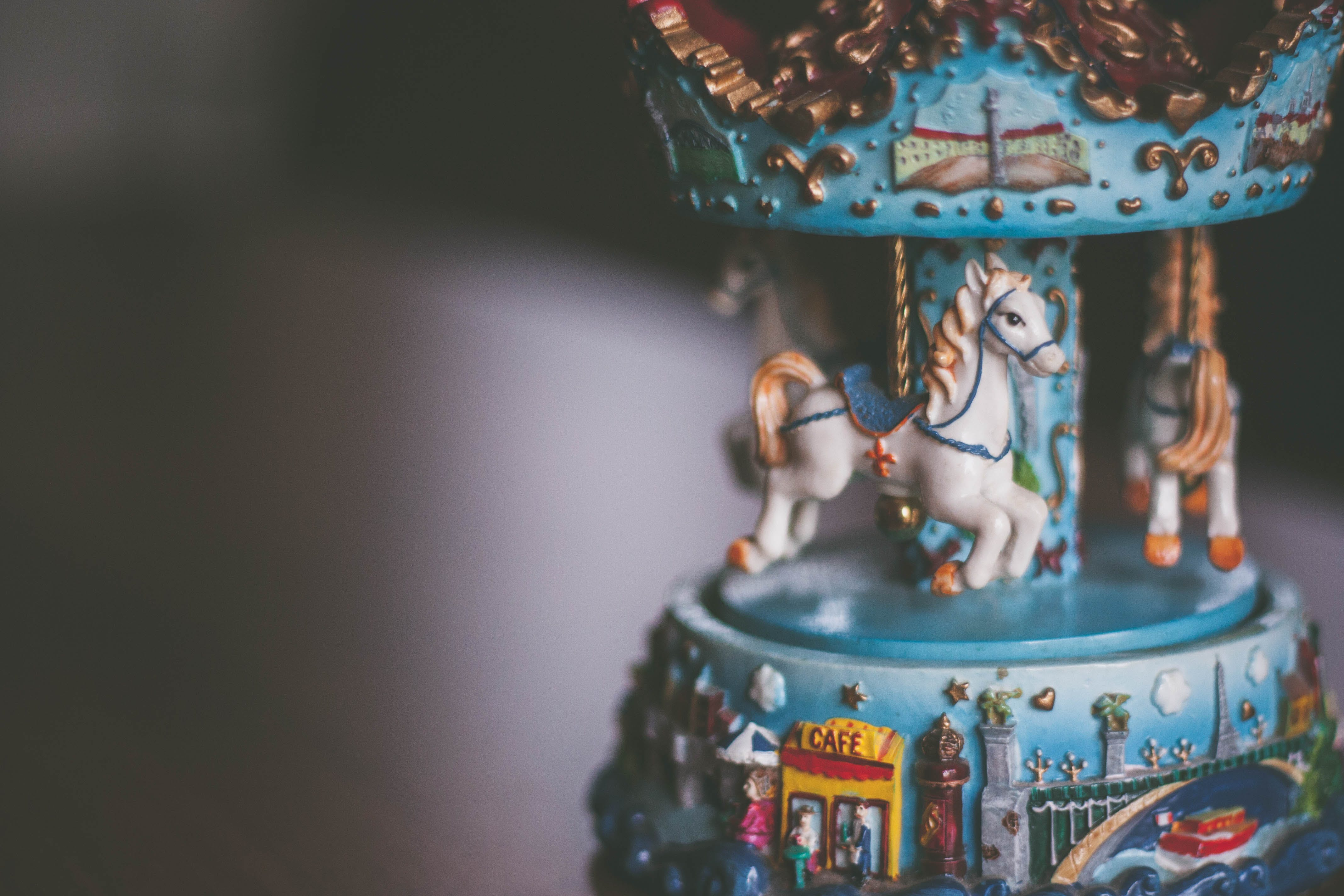 Free stock photo of carousel, carousel toy, children's toy, horse