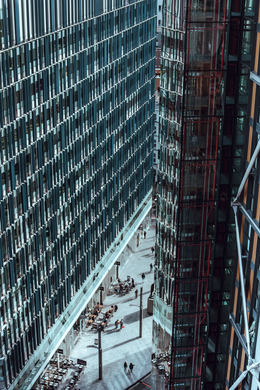 arkitektur, by, byggeri