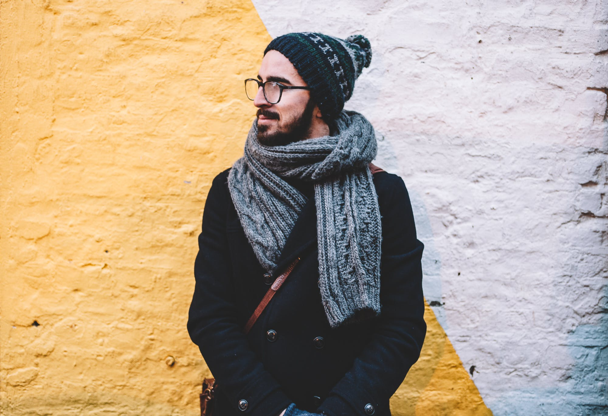 Free stock photo of cold, fashion, man, person