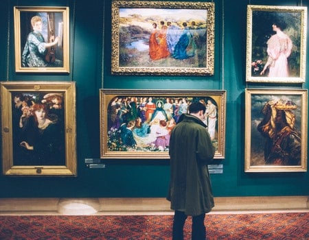 Free stock photo of man, person, art, display