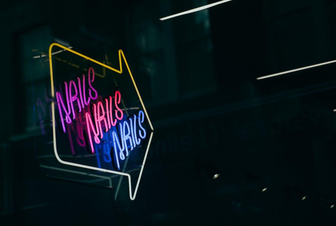 Turned on Neon Light Signage