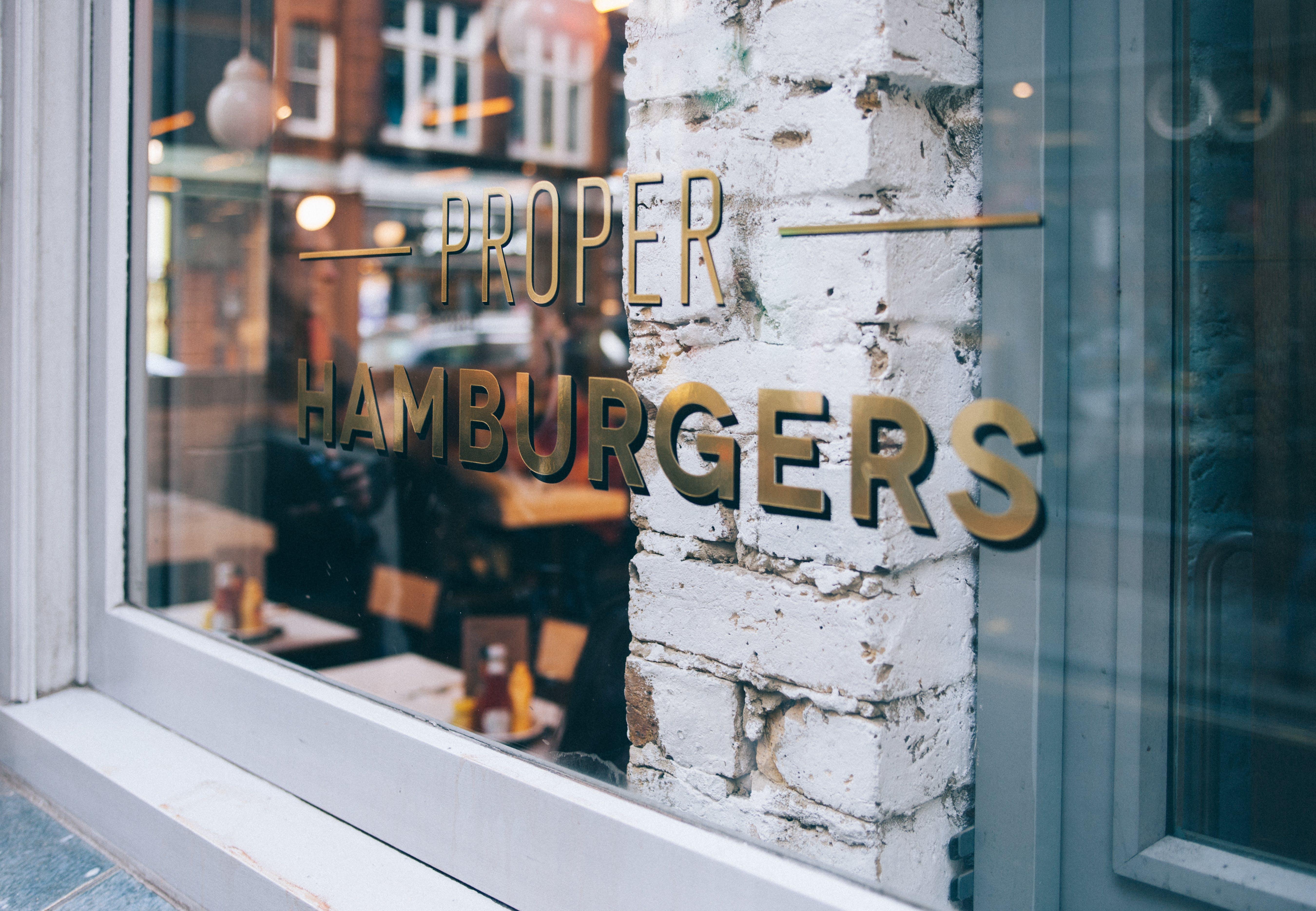Proper Hamburgers