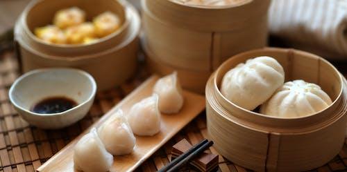 A Photo Of Steamed Dumplings