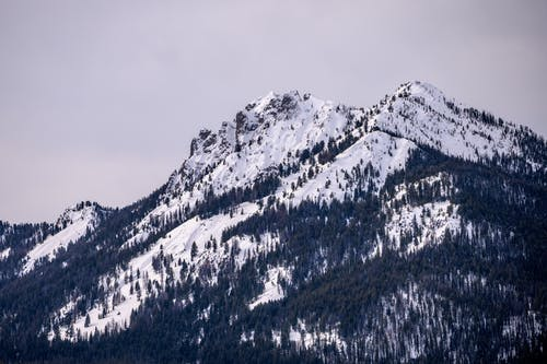 Scenic Photo Of Snow Capped Mountain