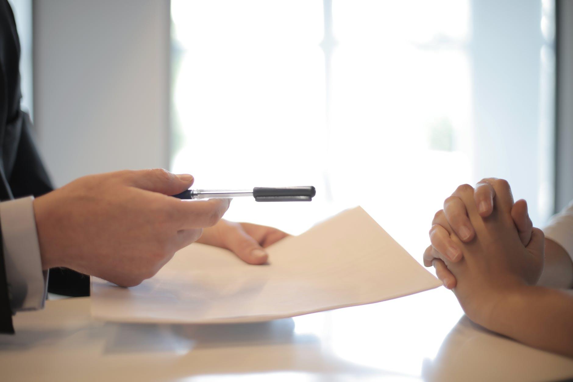contrat de coaching modèle