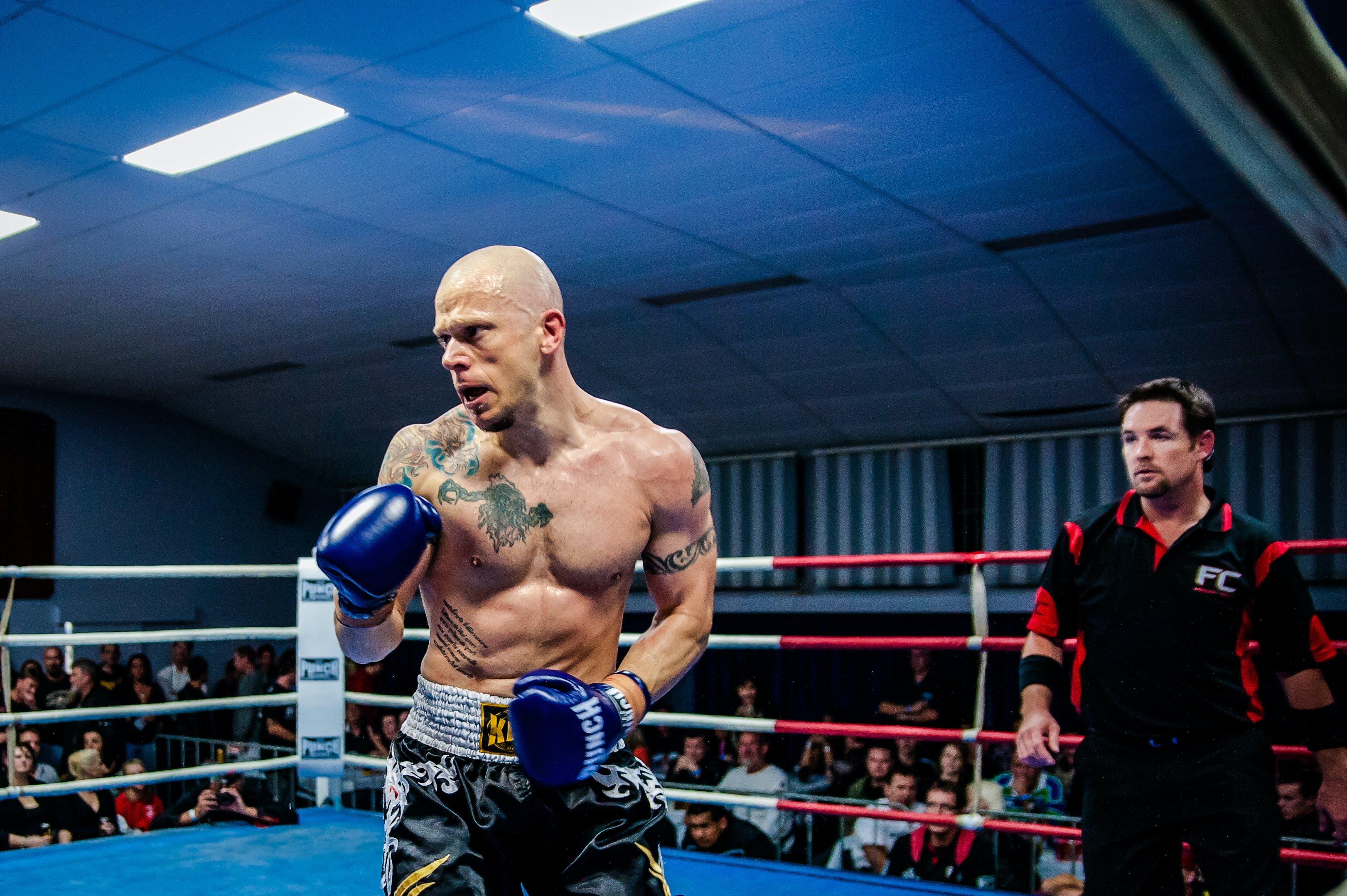 Kostenloses Stock Foto zu boxen, muay thai, cavemantraining