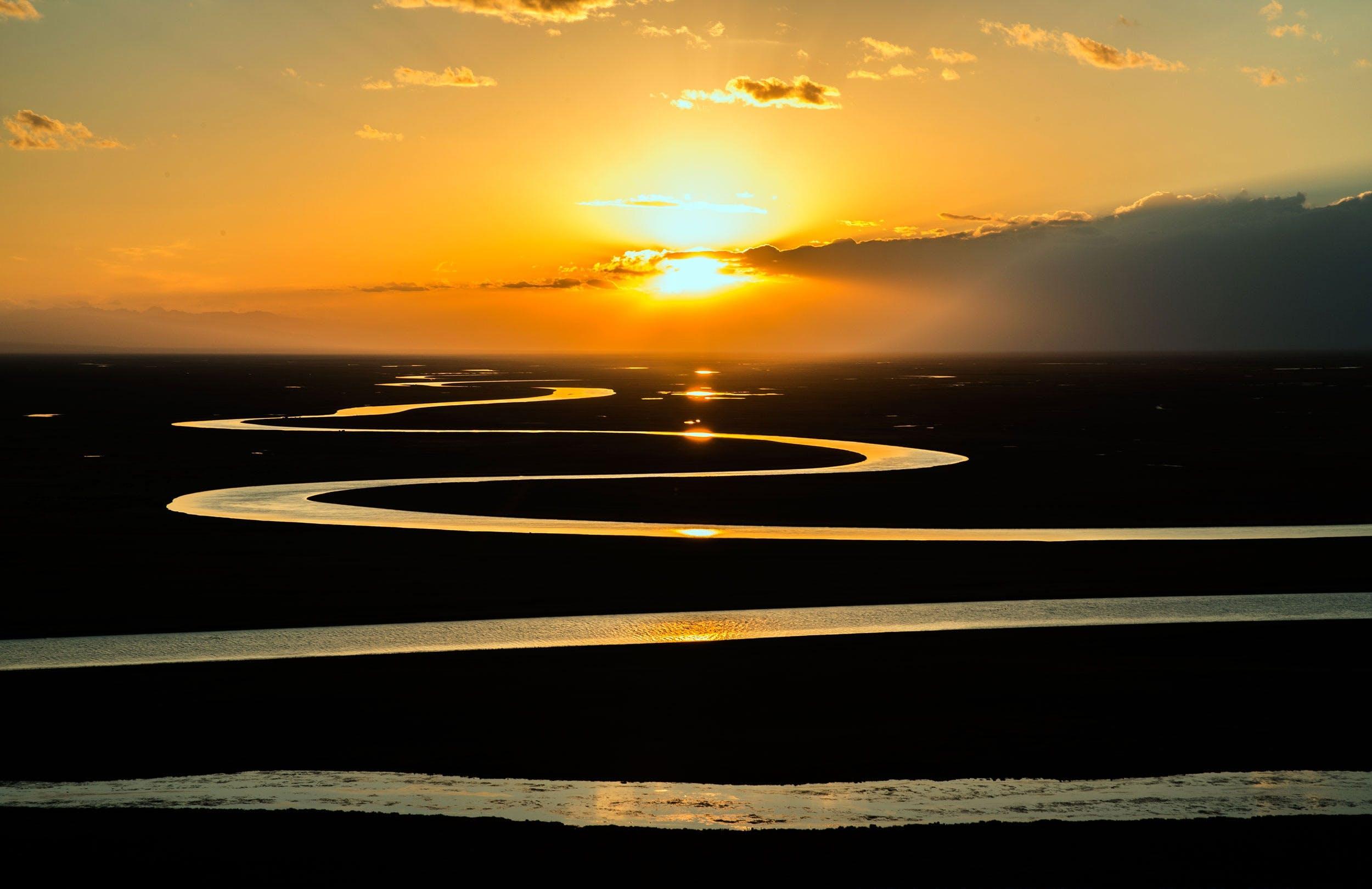 Gratis lagerfoto af himmel, morgengry, natur, solnedgang