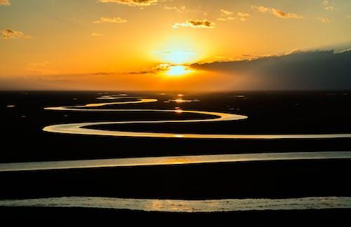 夜明け, 日の出, 日没, 空の無料の写真素材
