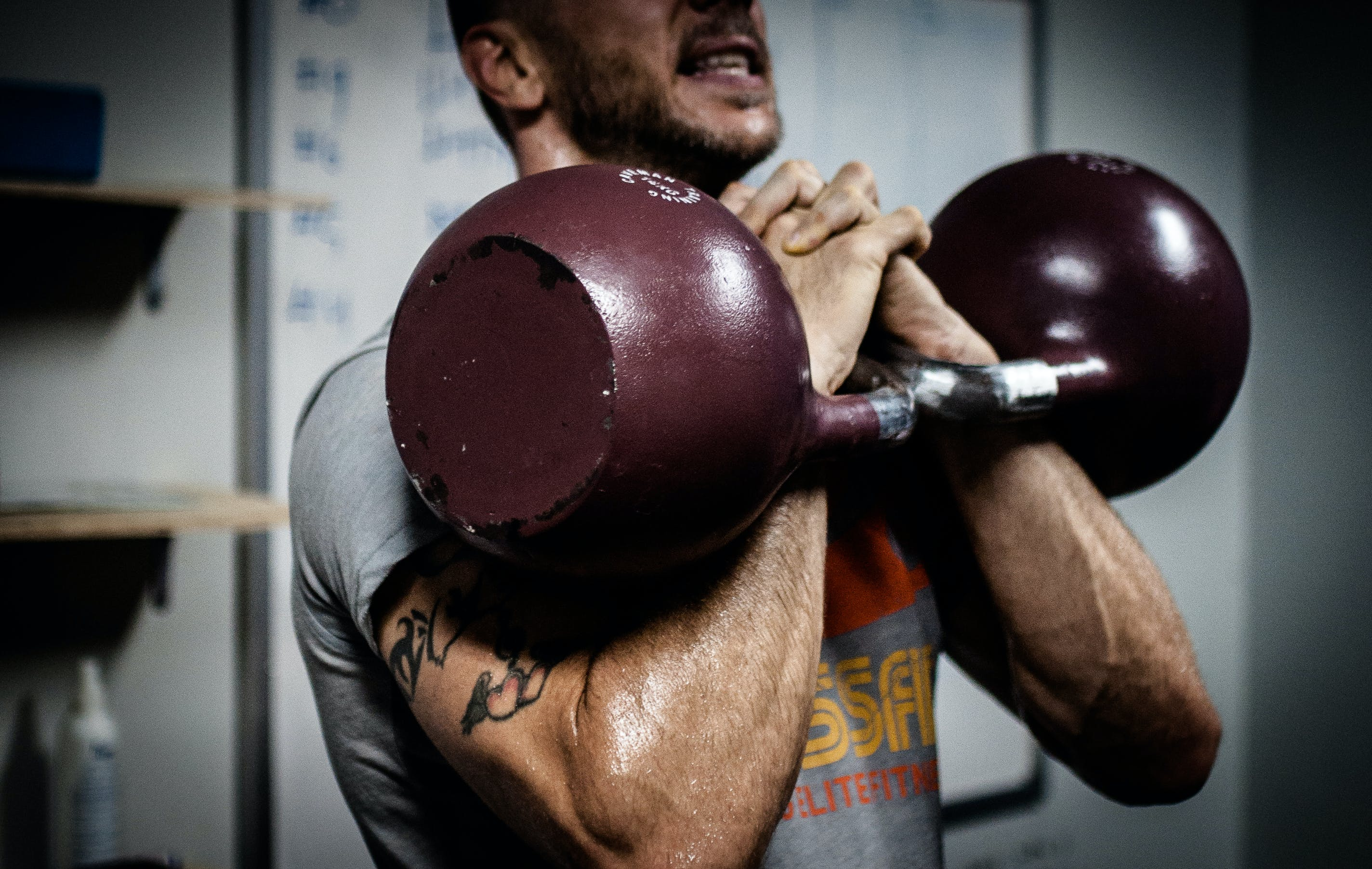 Free stock photo of coach, trainer, crossfit, kettlebells