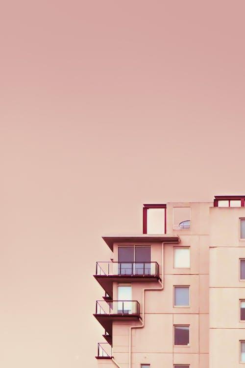 Gratis lagerfoto af arkitektur, bygning, højhus, Lejligheder