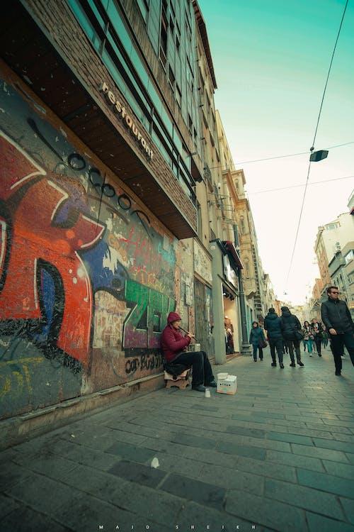 Free stock photo of human, Istanbul, music