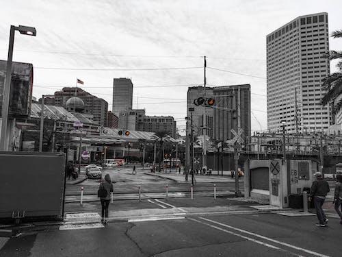 Fotobanka sbezplatnými fotkami na tému čierna a biela, mesto