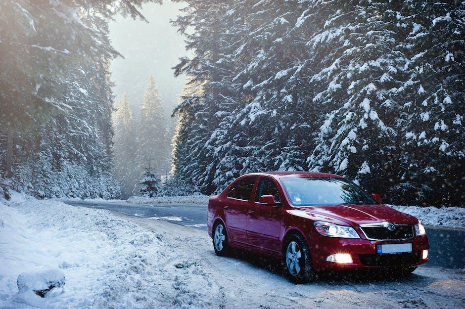 auto, car, cold