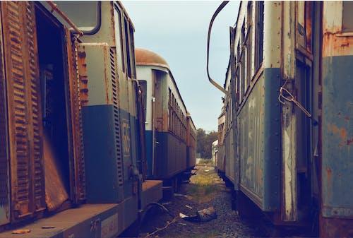 Безкоштовне стокове фото на тему «іржа, кольори, минуле, поїзди»