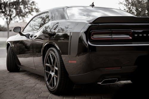 Free stock photo of black, Dodge Challenger, Hemi, Hemi 392