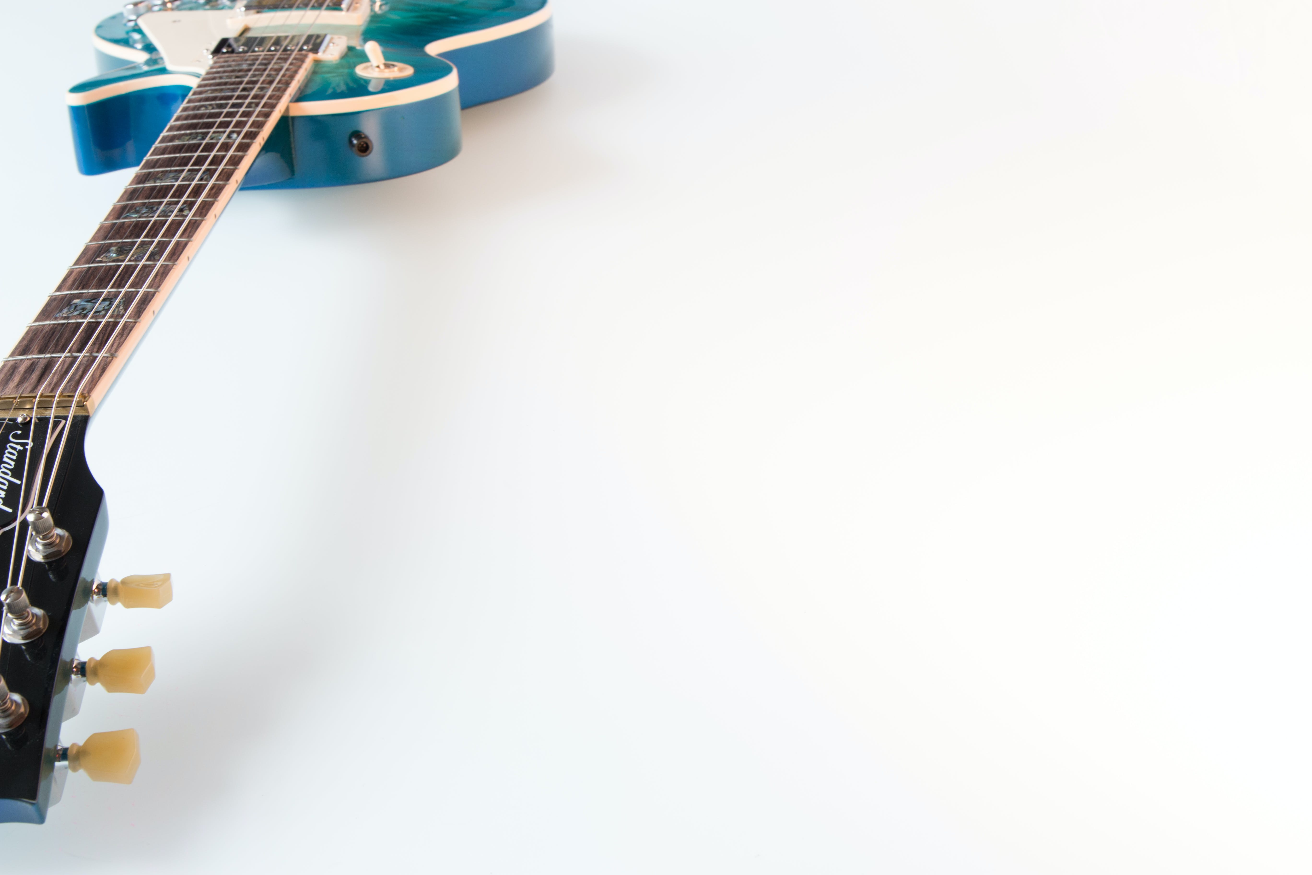 of electric guitar, gibson, guitar, isolated