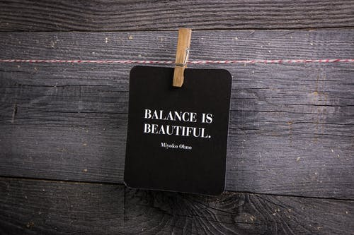 Free stock photo of balance, clothes line, clothes pin, quote